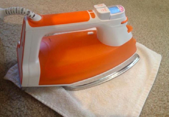 Limpar manchas no carpete