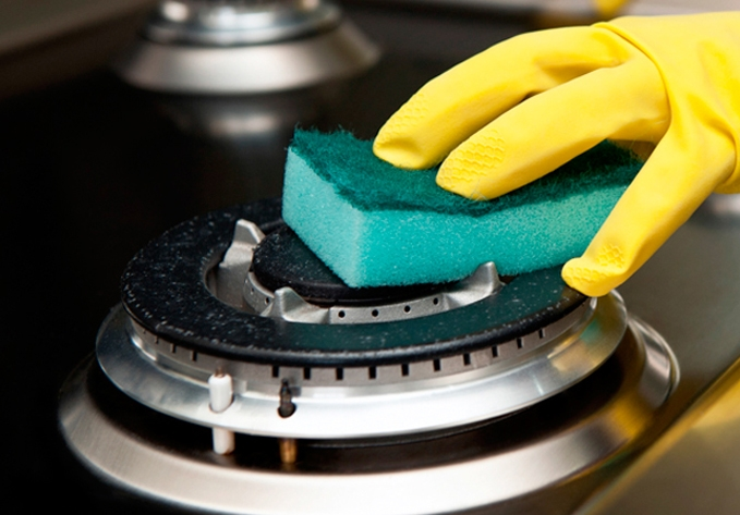 Como limpar os queimadores do fogão