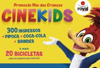 Promoção Cinekids Resende