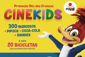 Promoção Cinekids Volta Redonda