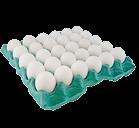 Ovos Brancos Cartela com 30 unidades