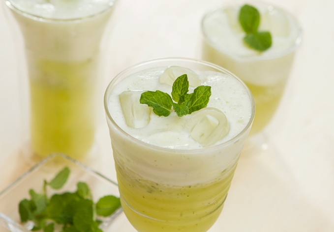 Suco Refrescante de Abacaxi