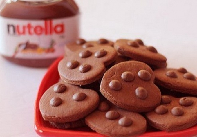 Biscoitos de Nutella com 3 ingredientes